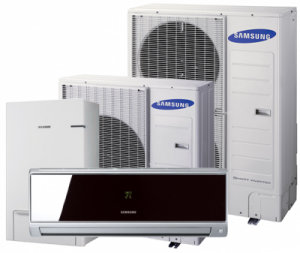 Tepelném čerpadla Samsung